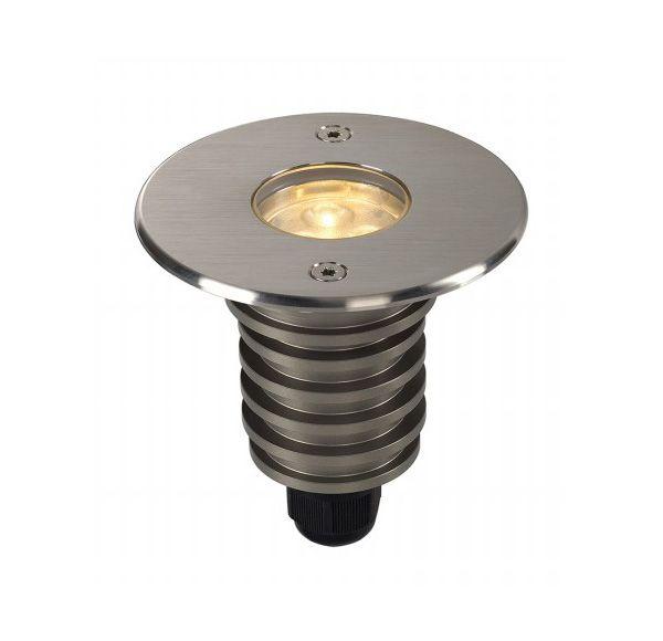 DASAR LED HV inbouw, rond, SST 316, 6W, 3000K, 230V, IP67