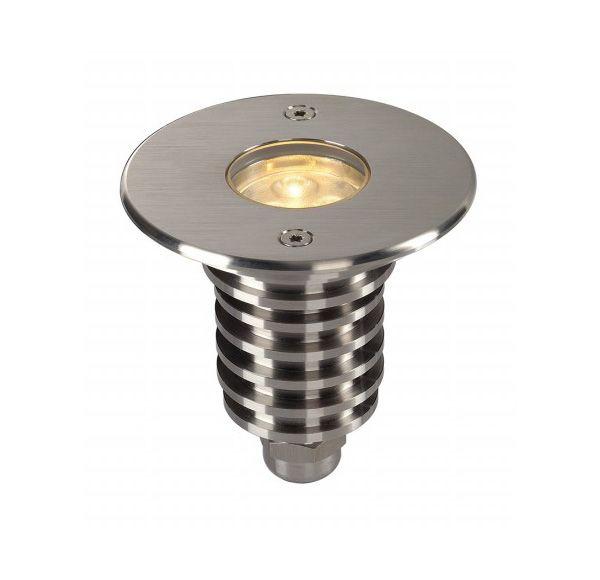 DASAR LED HV PRO inbouw, rond, SST 316, 6W, 3000K, 230V, IP67