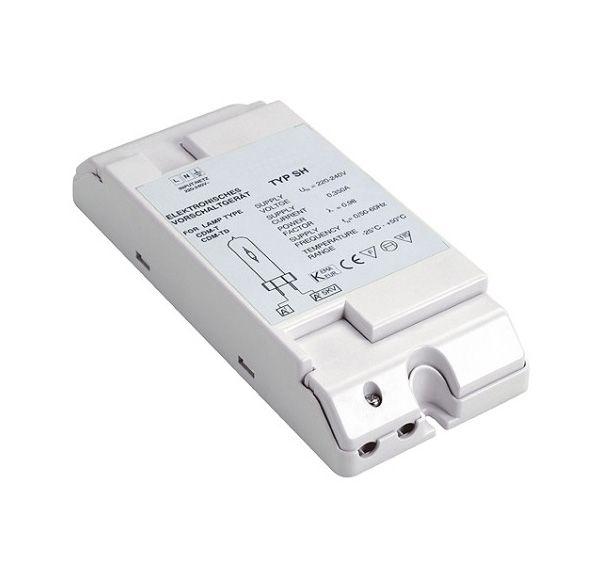 BALLAST HID voor CDM 70W, 230V, incl. trekontlasting