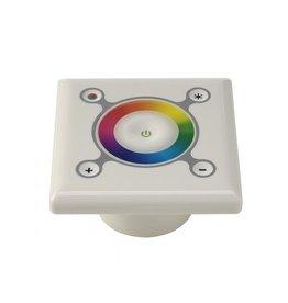 RGB LED STURING VOOR INBOUW, wit, 12V/24V, max. 33W