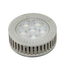 LED GX53 lichtbron, 7,5W, 450lm, 6 SMD LED, 25gr, 3000K