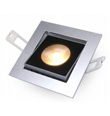 Downlight Flexo-SQ Silver 10W 2700K IP54