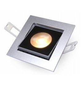 Downlight Flexo-SQ Silver 10W 2700K IP54