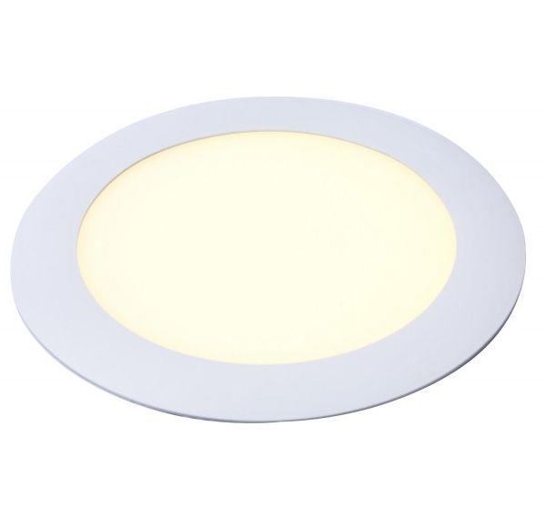 Downlight Panel Round 18W, warm white, 2700-3300K