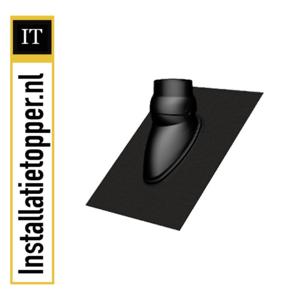 Ubbink Ubiflex dakdoorvoerpan 15-55 graden t.b.v. rookgasdoorvoer