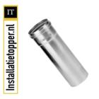 Burgerhout Aluminium buis - dikwandig Mugrofix 80mm