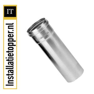 Burgerhout Aluminium buis dikwandig Mugrofix 80mm