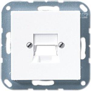 Jung Centraalplaat t.b.v. Modular Jack connector Cat. 3
