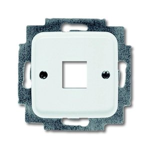 Busch-Jaeger Centraalplaat t.b.v. Modular Jack connector