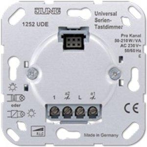 Jung Serie-tastdimmer universeel 2 x 50 - 260W/VA inbouw