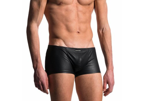 Manstore Boxer Leder Look <zwart> - Manstore M104