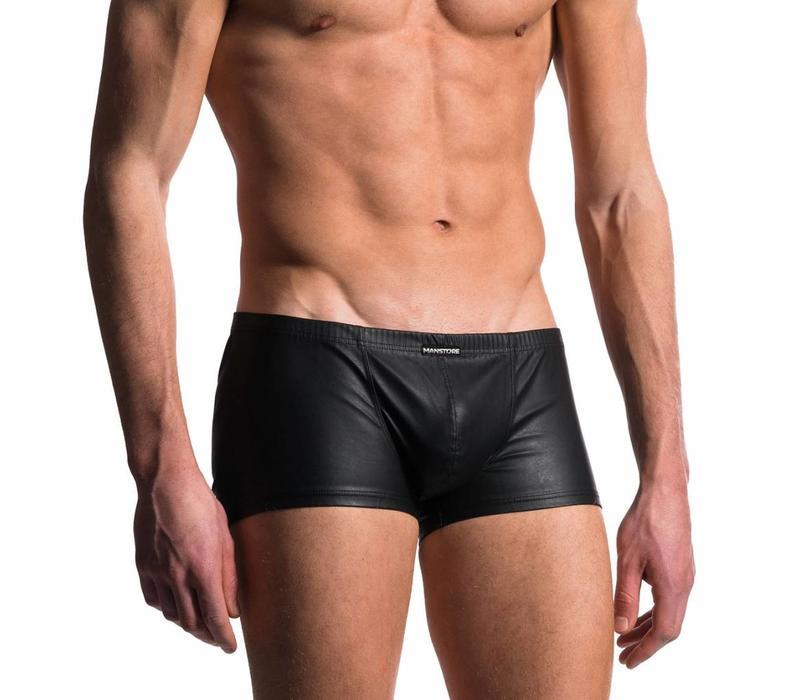 Boxer Leder Look <zwart>