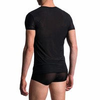 V-shirt classic <zwart>