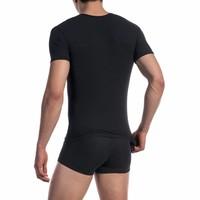 Phantom V-shirt ultra stretch <zwart>