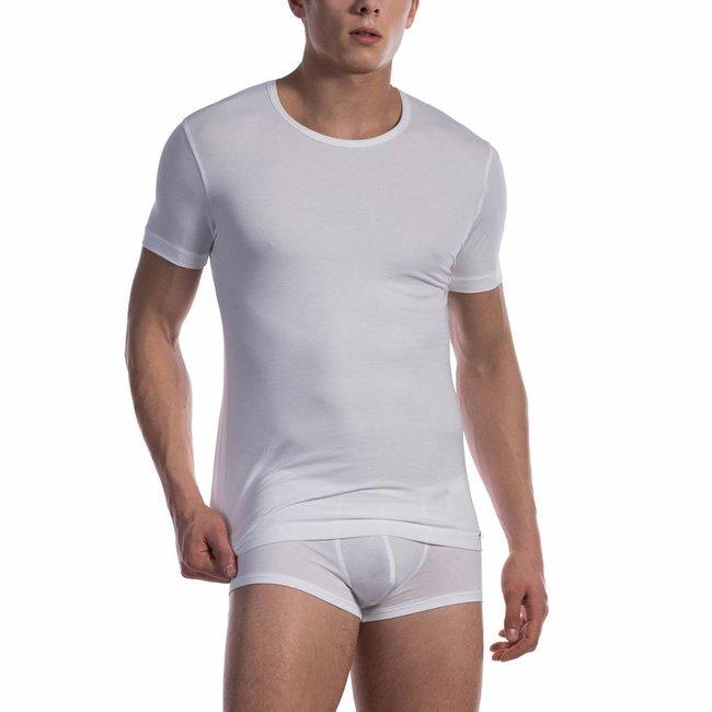 Olaf Benz  T-shirt katoen classic <wit> - Olaf Benz 1601*