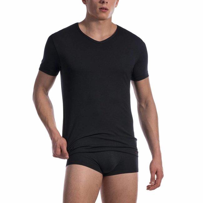 Olaf Benz  Olaf Benz RED1601 Cotton Classic V-shirt <black>