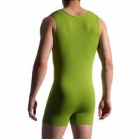 Sportbody met rits <groen>