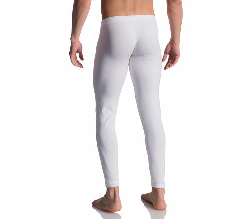 Lange onderbroek (katoen) <wit>
