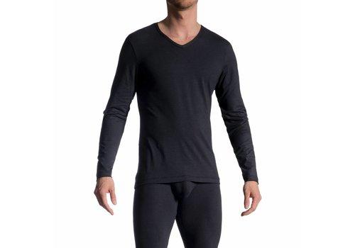 Olaf Benz  Long Shirt (katoen) <zwart> - Olaf Benz RED1601