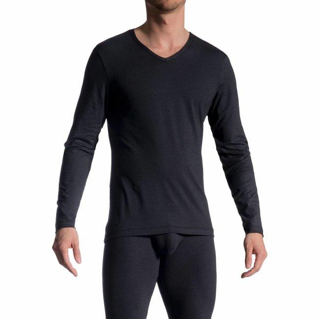 Olaf Benz Long Shirt (cotton) <black> ·RED1601·