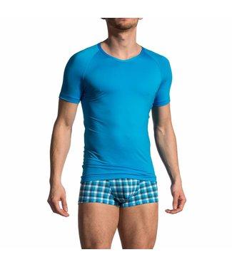 Olaf Benz  V-shirt <blauw> - Olaf Benz 1702*