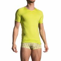 V-shirt <geel/groen>
