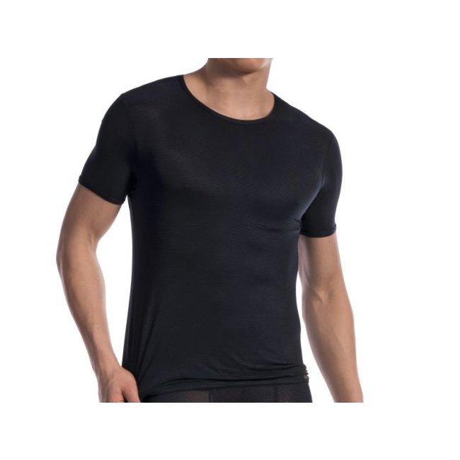 Olaf Benz T-shirt <transparent black> ·RED1201·