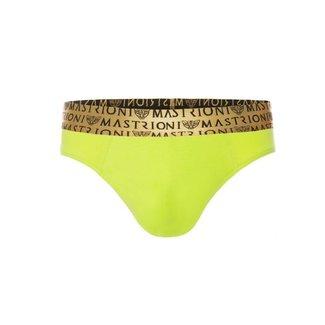 Mastrioni Mastrioni Bronze Triple Panther Briefs <lime green>