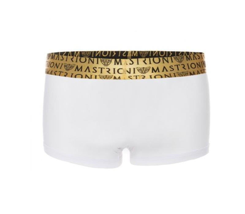 Bronze Triple Panther Trunks <white>