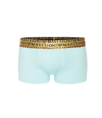 Mastrioni Bronze Triple Panther Trunks <ice blue> - Mastrioni