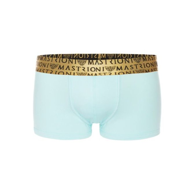 Mastrioni Bronze Triple Panther Trunks <ice blue>