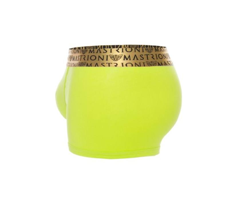 Bronze Triple Panther Trunks <lime green>