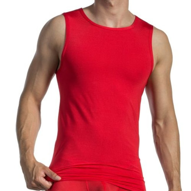 Olaf Benz Tanktop <transparent red> ·RED1201·