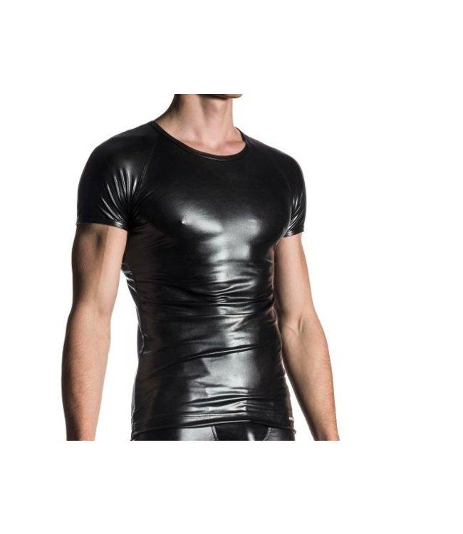 Manstore Manstore M107 Brando Shirt Wet Look <black>