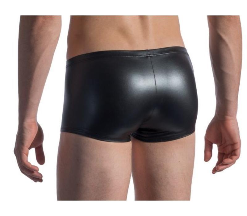 Manstore Wet Look Boxer <zwart> ·M107·