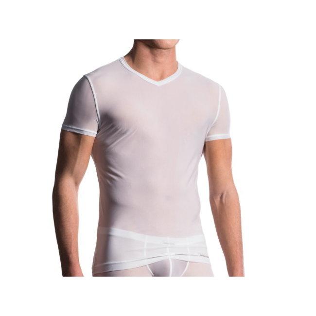 Manstore  V-shirt classic <white> ·M101·
