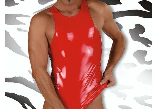 Eros Veneziani Lak Halter Top <rood> - Eros Veneziani 6843