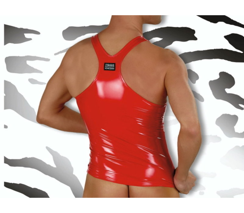 Lak Halter Top <rood>