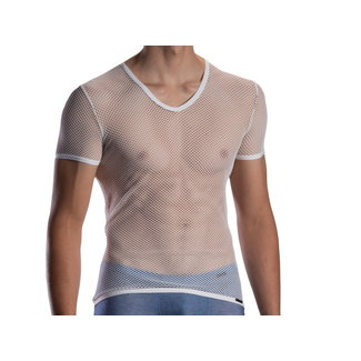 Olaf Benz  Olaf Benz RED1870 Net V-shirt Low <white>