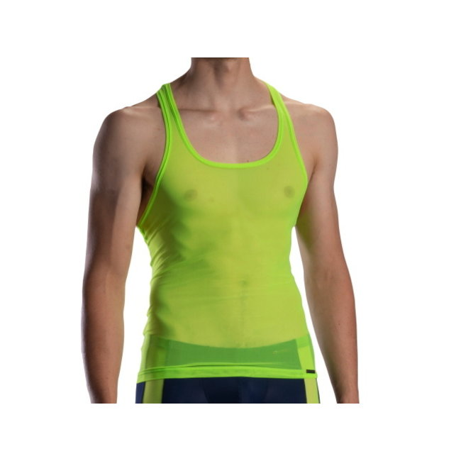 Olaf Benz Halter shirt <transparant neon green> ·RED1872·