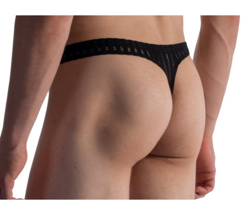 Ministring soft stretch <black>