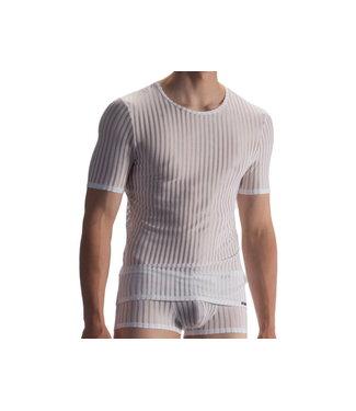 Olaf Benz  T-shirt soft stretch <white> - Olaf Benz RED1865