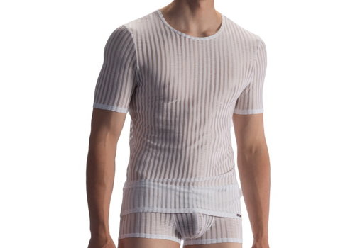 Olaf Benz  T-shirt soft stretch <white> - Olaf Benz RED1865