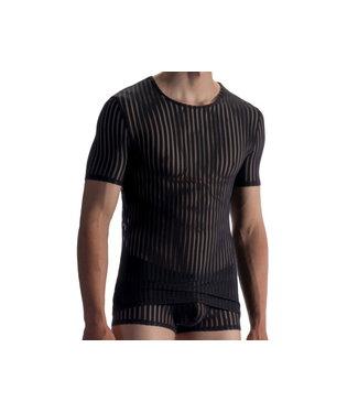 Olaf Benz  T-shirt soft stretch <black> - Olaf Benz RED1865