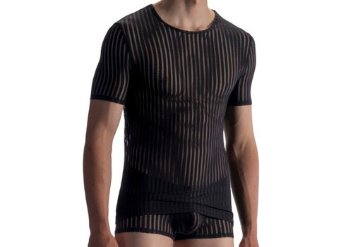 Olaf Benz  T-shirt soft stretch <black> - Olaf Benz RED1865