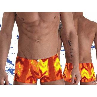 Eros Veneziani Eros Veneziani 7136 Swim Short <orange/yellow>