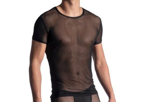 Manstore Manstore M863 T-shirt <zwart doorzichtig>