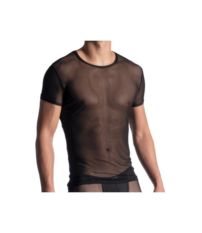 Manstore Manstore M863 T-shirt <black transparent>