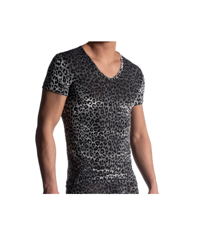Manstore Manstore M908  NIGHTCLUB V-Neck Tee low <wild>