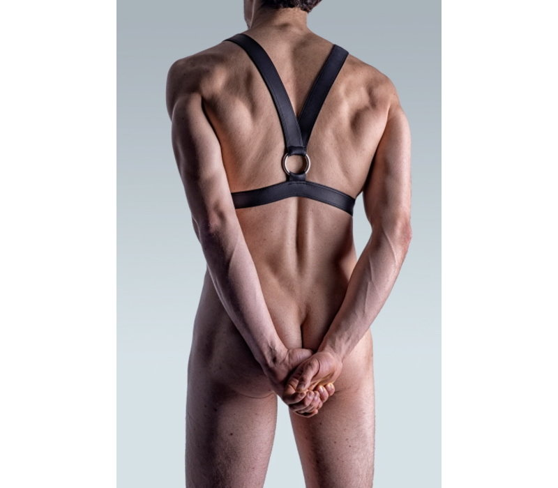 Manstore Harness Leather-Look <black> ·M510·